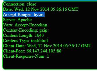 ftp response header using perl