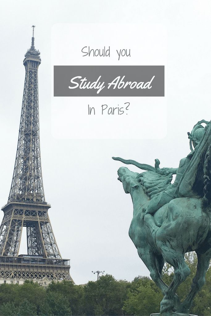 How and why I chose to study abroad in Paris.