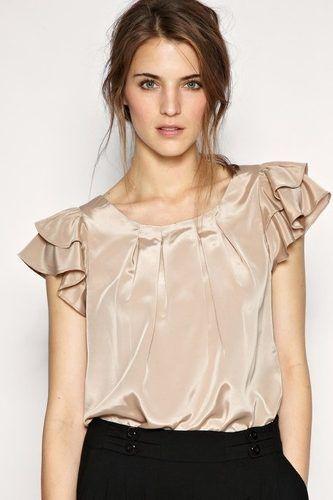 blusas de mujer modernas juveniles - Buscar con Google