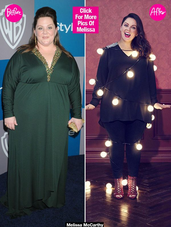 Wow! Melissa McCarthy looks incredible. She recently showed off her new figure and looked absolutely stunning in a new ad campaign for her clothing line, Melissa McCarthy Seven7. See the before and after pics here!