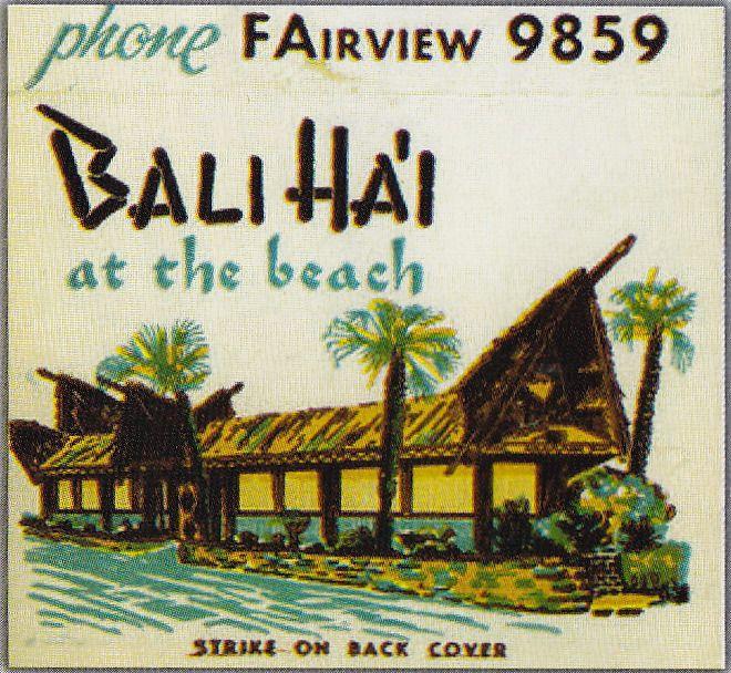 Bali Ha'i vintage tiki