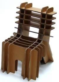 Cardboard Chair Design With Legs Chairs