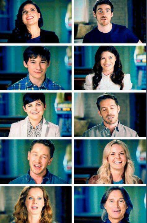 The awesome cast of Once in the awesome #DarkSwan rises Once celebration special…