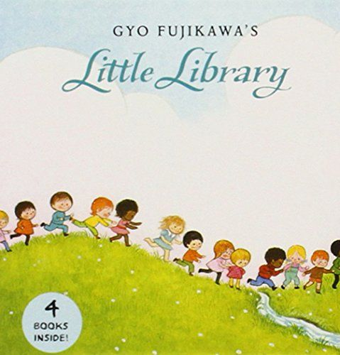 Gyo Fujikawa's Little Library - These four mini board books feature lovely pastel covers and contain Gyo Fujikawa's adorably retro illustrations with simple text.