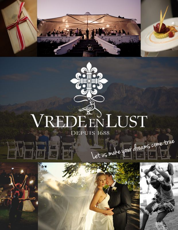 Visit Vrede en Lust - a beautiful setting for a wedding