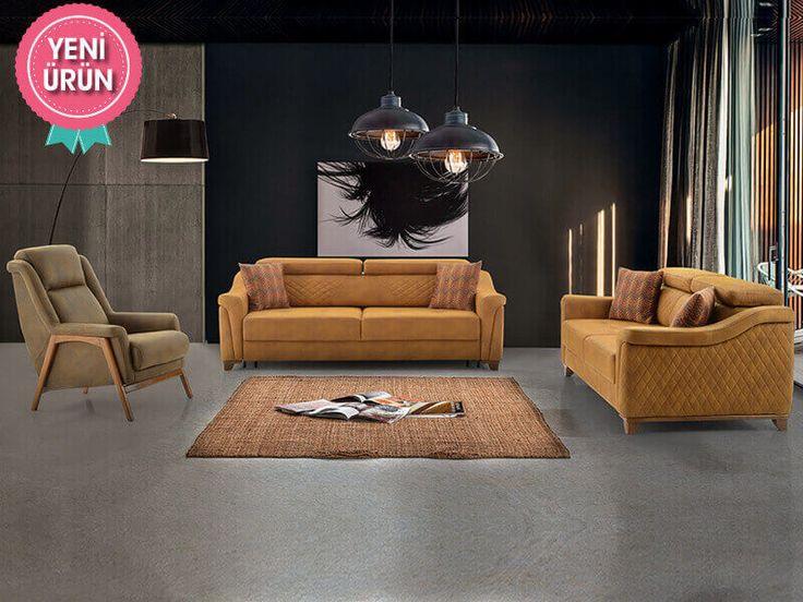 Perfect Modern Koltuk Takımı konforu ve zarifliği ile sizin için tasarlandı!  #Mia #Modern #Koltuk #Takımı #Sönmez #Home #Mobilya #Mekanizma