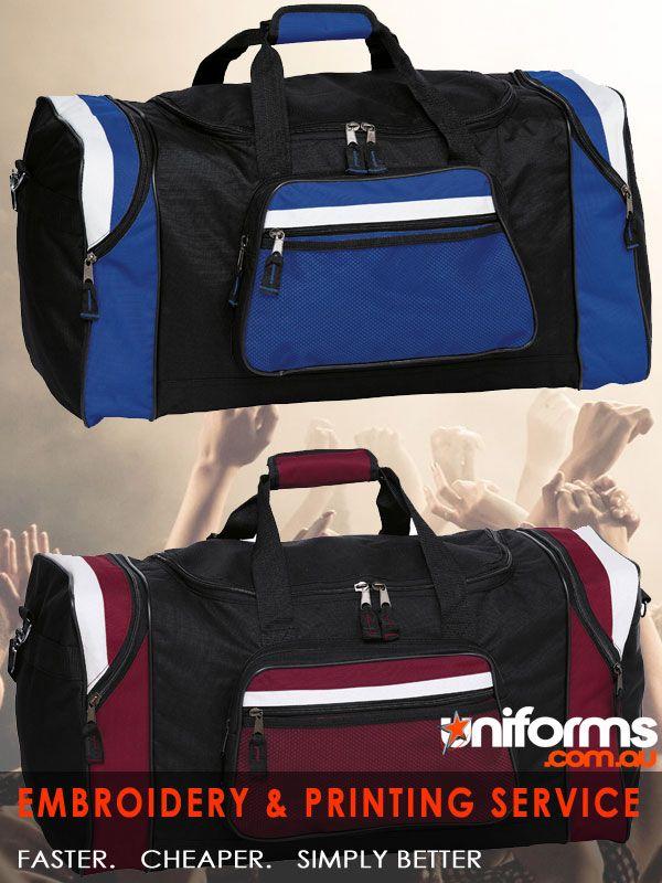 uniforms-Contrast Gear Sports Bag See more at:  https://www.uniforms.com.au/