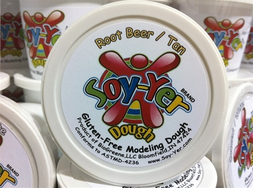 Soy-Yer Dough (Gluten free and Soy free option to Play Doh!!!) Made in the USA $1.95 4oz