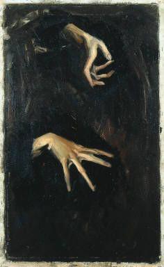 Studies of Hands, Edward Hopper, 1905-1906.