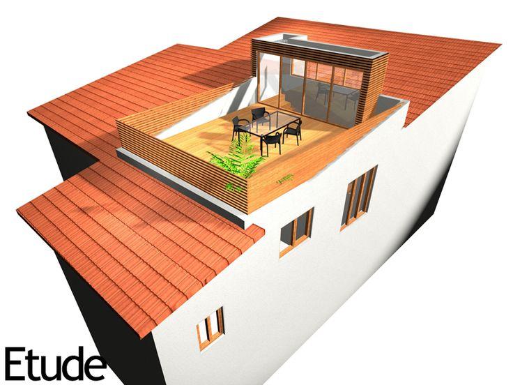 les 170 meilleures images propos de piscine sur toit et toit terrasse sur pinterest terrasse. Black Bedroom Furniture Sets. Home Design Ideas