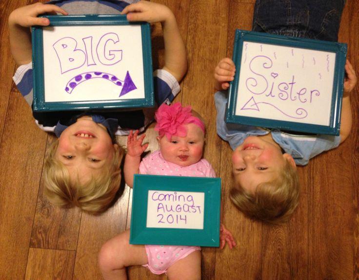 The 25 best 4th baby announcement ideas – Unique Baby Announcement Ideas