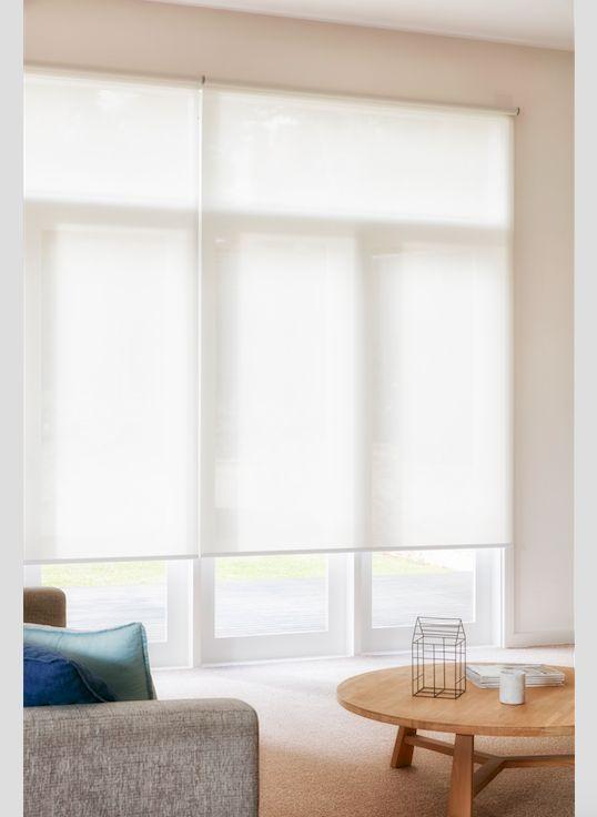 Carpet Court sheer roller blinds