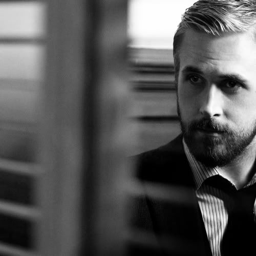 Ryan Gosling: Ryan Gosling, Boys Poses, Black And White, Photography Portraits, Notebooks, Black White, I Love Beards, Movemb, Facials Hairs