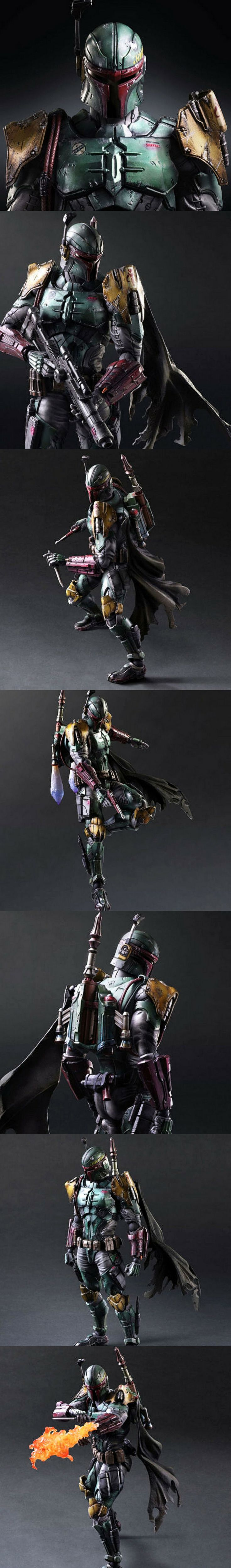 Star Wars The Force Awakens Boba Fett Figure #starwars #figure #bobafett