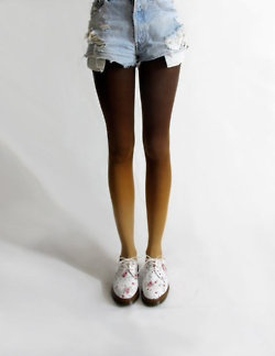 !: Shoes, Fashion, Style, Clothes, Ombré Tights, Ombre Tights D, Gradient Tights, Animal