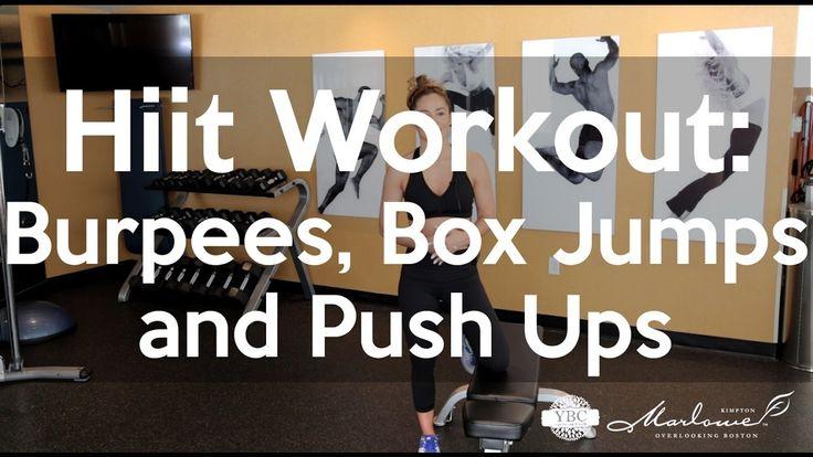 Hiit Workout: Burpees, Box Jumps and Push Ups