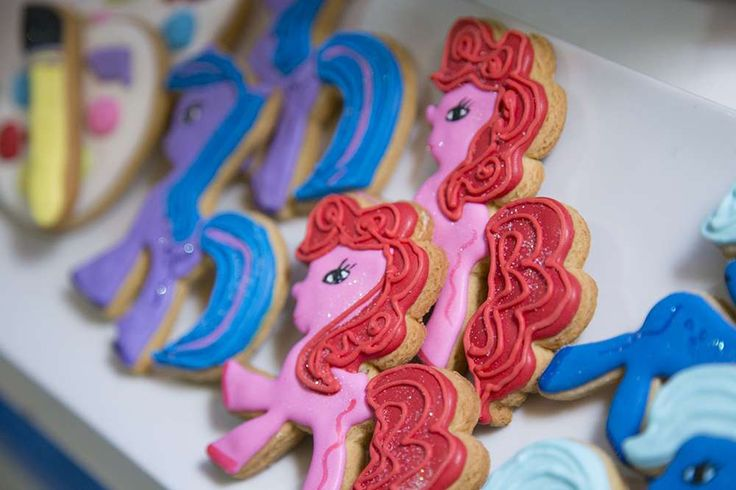 Arts crafts my little pony birthday party ideas for Arts and crafts party decorations