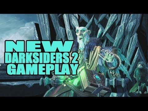 Darksiders 2: new gameplay reveals the 'CrowFather'