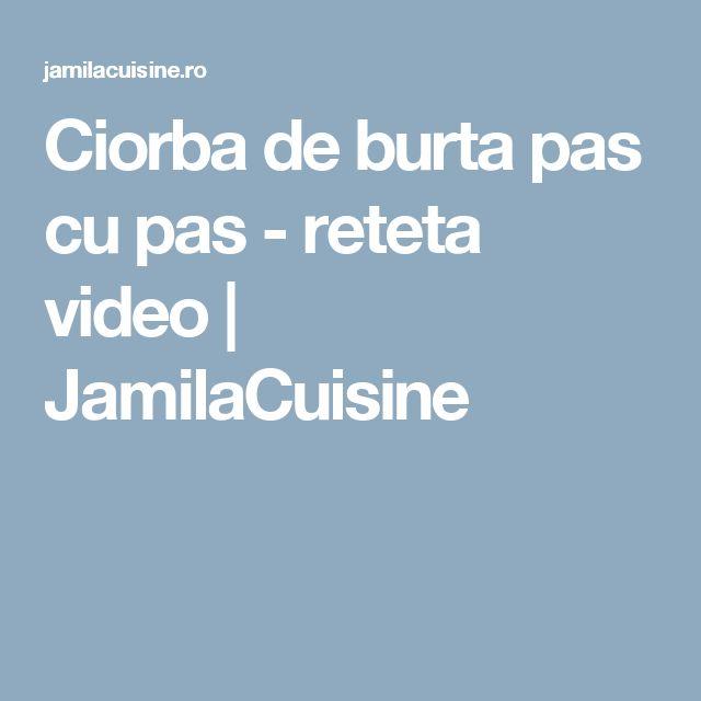 Ciorba de burta pas cu pas - reteta video | JamilaCuisine