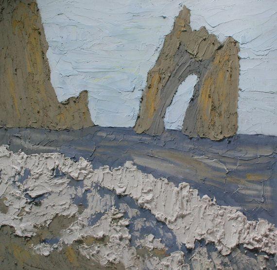 @Saatchiart #Saatchiart  #Fresco #art #Mural #expressionism #modernism #textured #paintings #creative #painting #artists #color #Cherepanova #Contemporaryfresco  #seascape #sea #ocean #water #nature #mountains