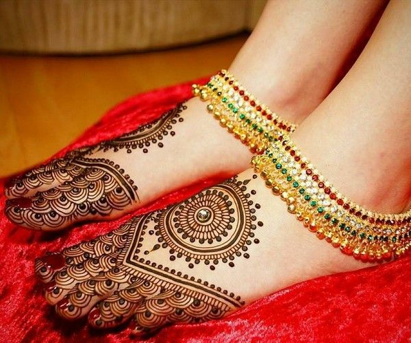 Arabic Mehndi Designs for Legs Awesome Collection 4