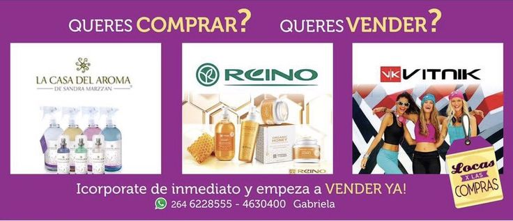 Queres Comprar? Queres Vender? VITNIK - LA CASA DEL AROMA - REINO DE LA MIELN #locasxlascompras #revender #comprar #catalogo