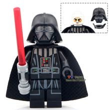 PG633 Darth Vader With Red Lightsaber New Version Single Sale Star Wars Mini-block Building Block Best Children Gift Toys(China (Mainland))