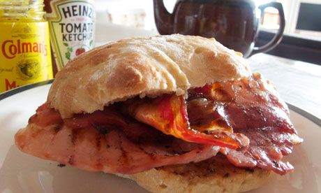 I intend to have enough hangovers to justify a bacon sarnie every day of the festive season.
