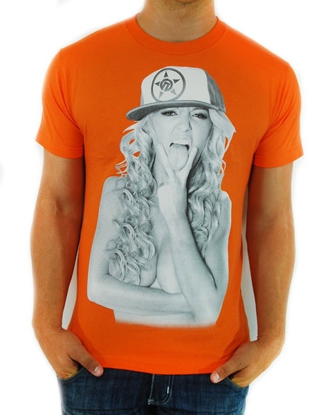 New!  Unit Linguistic T Shirt Orange  Reg. Price $22.99  Sale Price: $20.70
