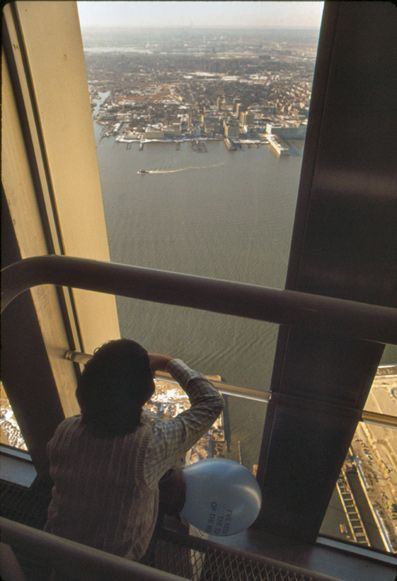 View from the World Trade Center New York observation floor looking west. | Harry 1976 | World Trade Center, New York