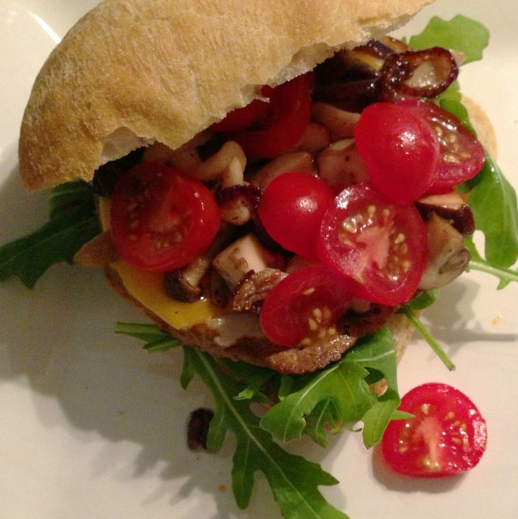 Italian hamburger - recipe on www.francescakookt.nl