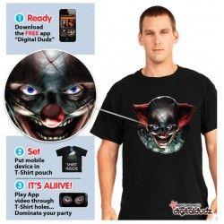 Comprar Camiseta Payaso Diabolico Morphsuit Adulto
