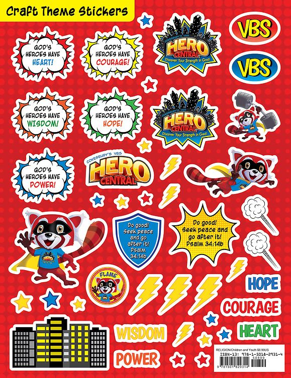 17 best images about vbs 2017 superheros on pinterest for Hero central vbs crafts