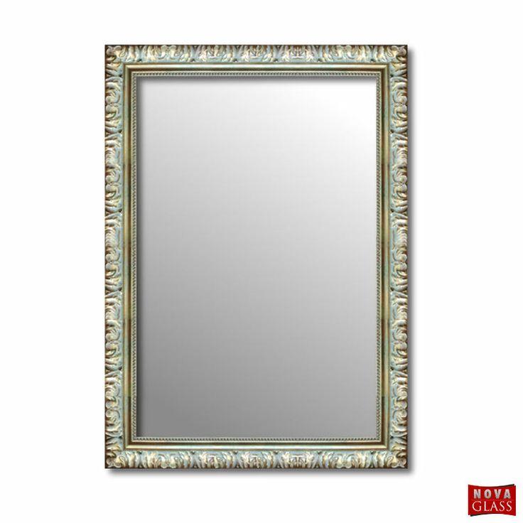 Καθρέπτης τοίχου με χρυσή κορνίζα Νο 286A