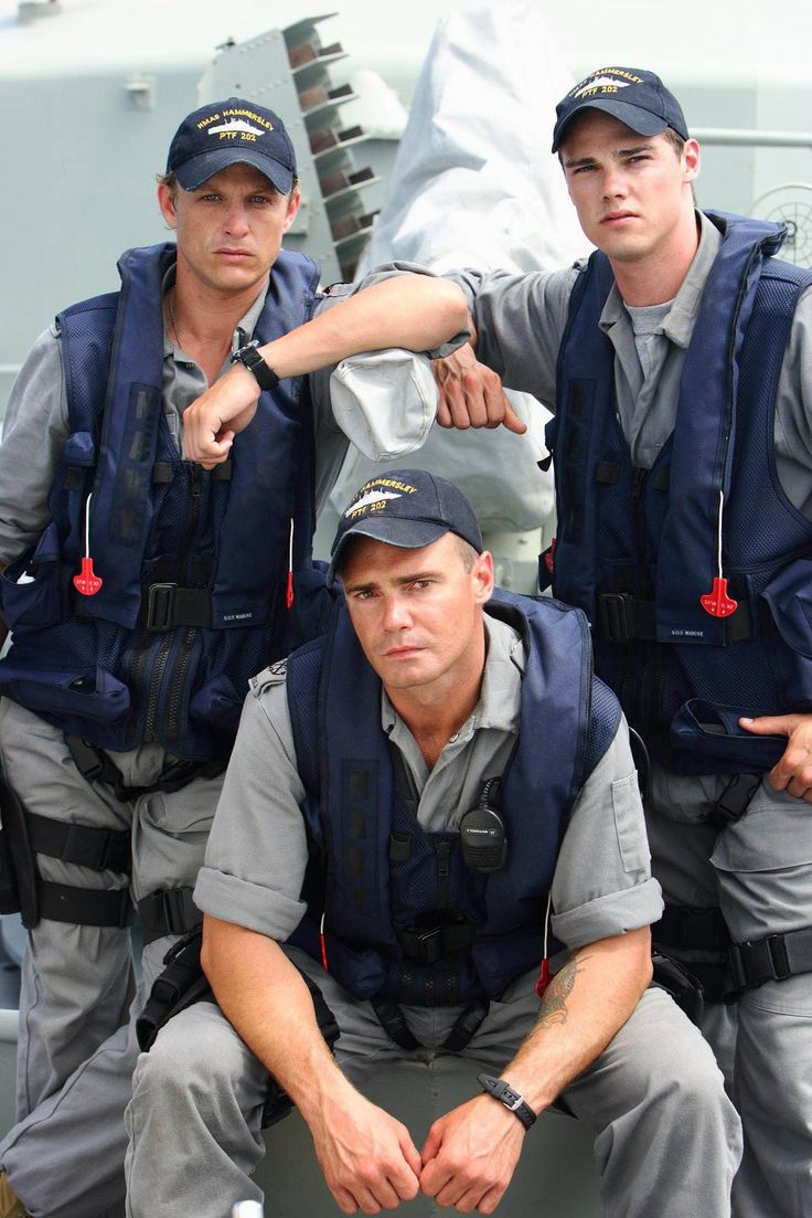 Crew of Sea Patrol - #davidlyons #dreamy