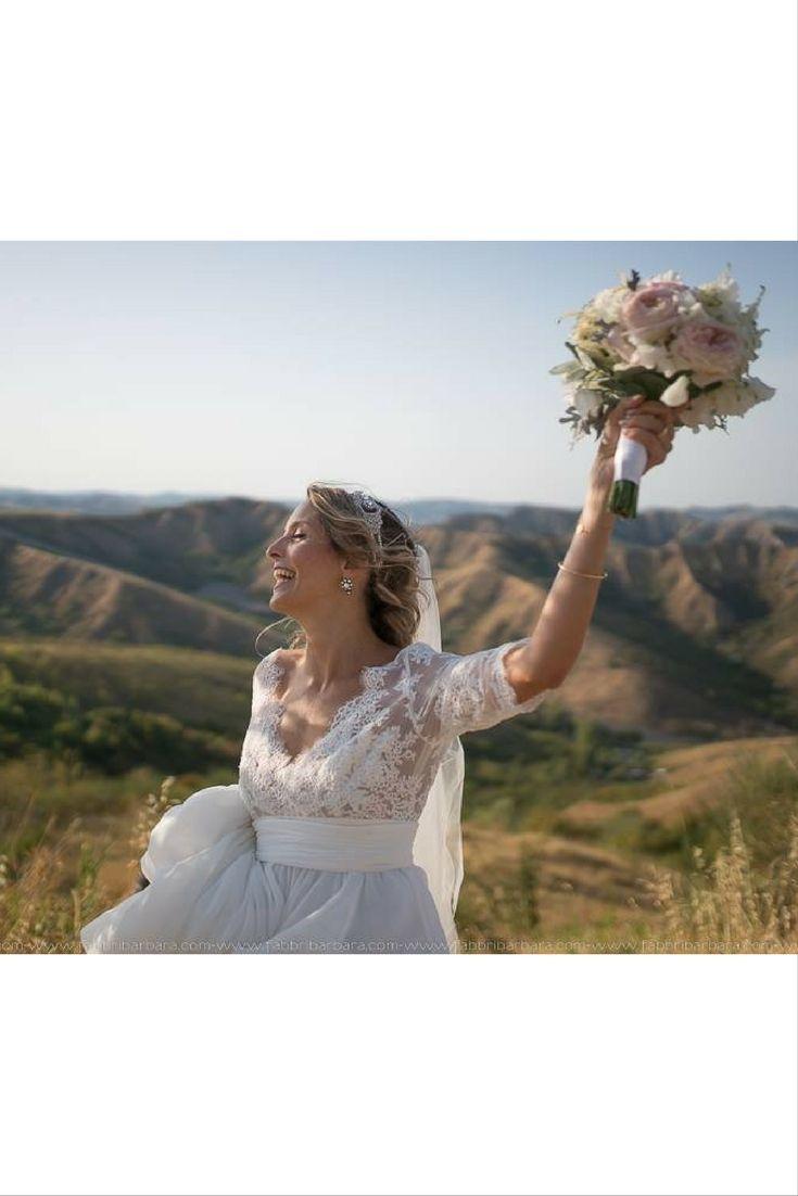 La sposa Alessandra   Villa Corte [Dove Vuoi Catering - Villa Rota]
