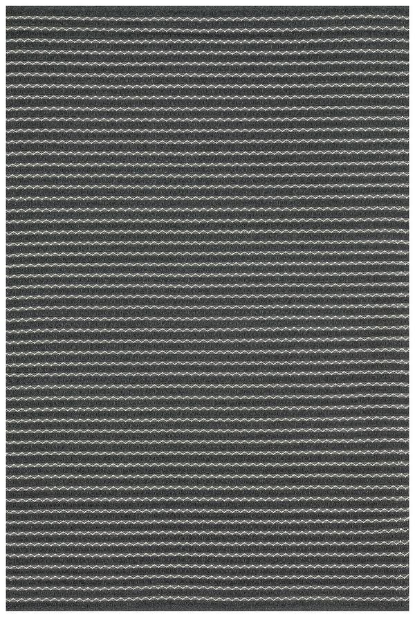 Modern Farmhouse Black Gray Outdoor Rug