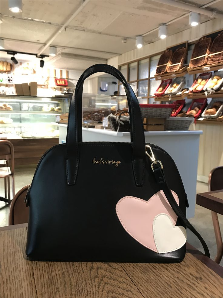 Black That's Vintage handbag