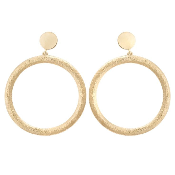 Buy the D'Avella Statement Double Round Drop Studs Earrings at Oliver Bonas. Enjoy free worldwide standard delivery for orders over £50.
