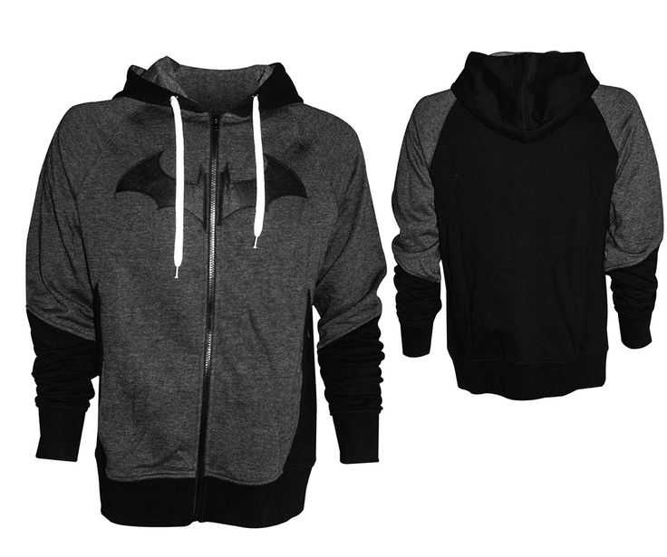 Gamer heaven - Batman Arkham Knight Official Zip Up Hoodie, $67.57 (http://www.gamer-heaven.net/batman-arkham-knight-official-zip-up-hoodie/)