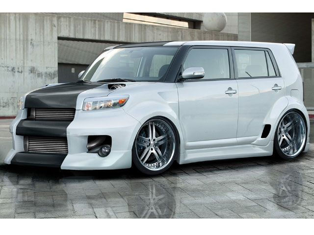 Scion xB 2012, show angular stylish - Cars Info