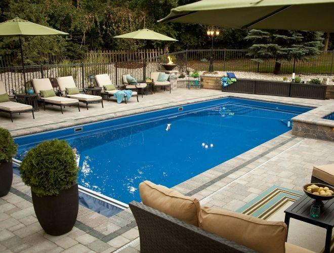 26 Best Palm Beach Style Fiberglass Pools Images On