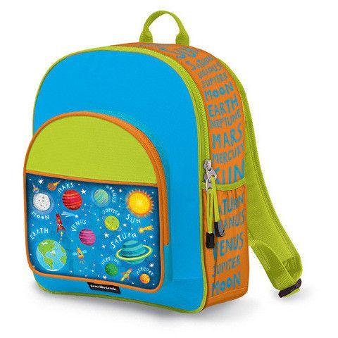 Crocodile Creek Backpack - Solar System 2 http://pumpkinpiekids.com/products/backpack-7