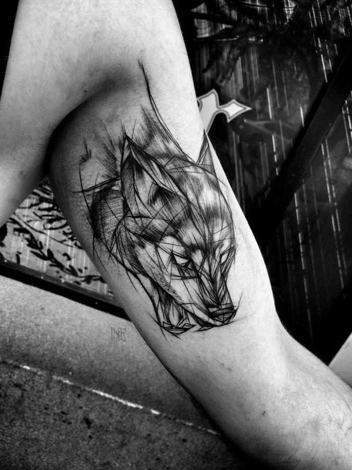 40 tatouages version croquis, la beauté de l\u0027imperfection , Koalol