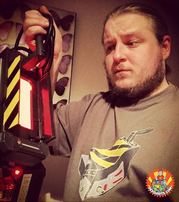 Dude, don't look directly into the trap! Our #Ghostbusters Trap tee is pretty sweet though...