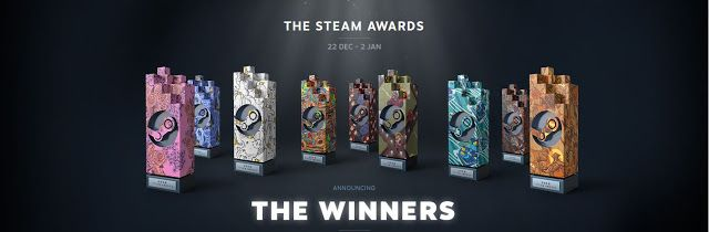Game Engine: WINNERS OF THE FIRST EVER STEAM AWARDS