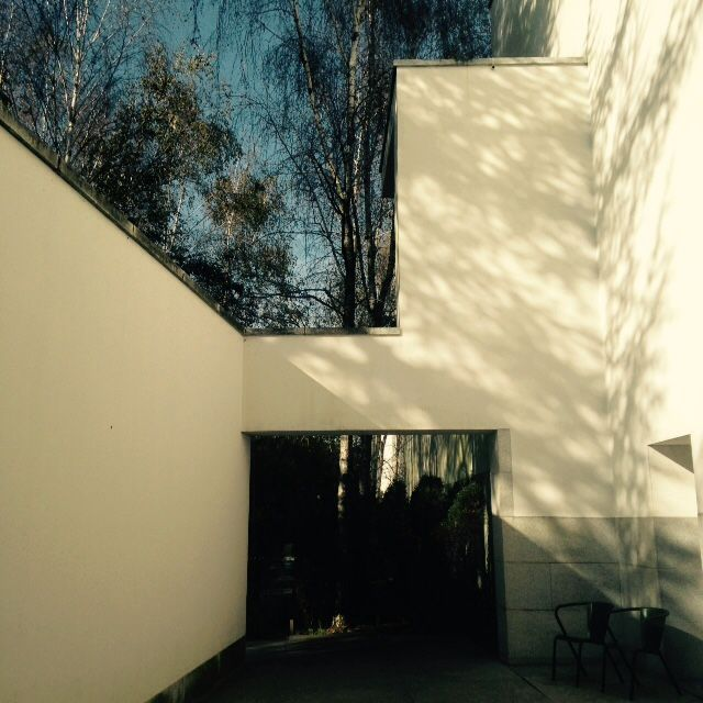 Siza Vieira, museum of Contemporary Art of Serralves, Porto, Portugal. Outdoor