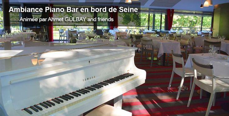 Ambiance Piano Bar au River Café ! Les vendredis, dimanches, lundis et mardis soir à 20h30, vivez une soirée festive !  #rivercafeparis #lerivercafe #sortiraparis #pianobar #paris #restaurant