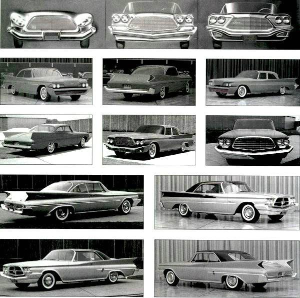 1960 Chrysler Clay Models Mopar Nation Pinterest Concept Cars