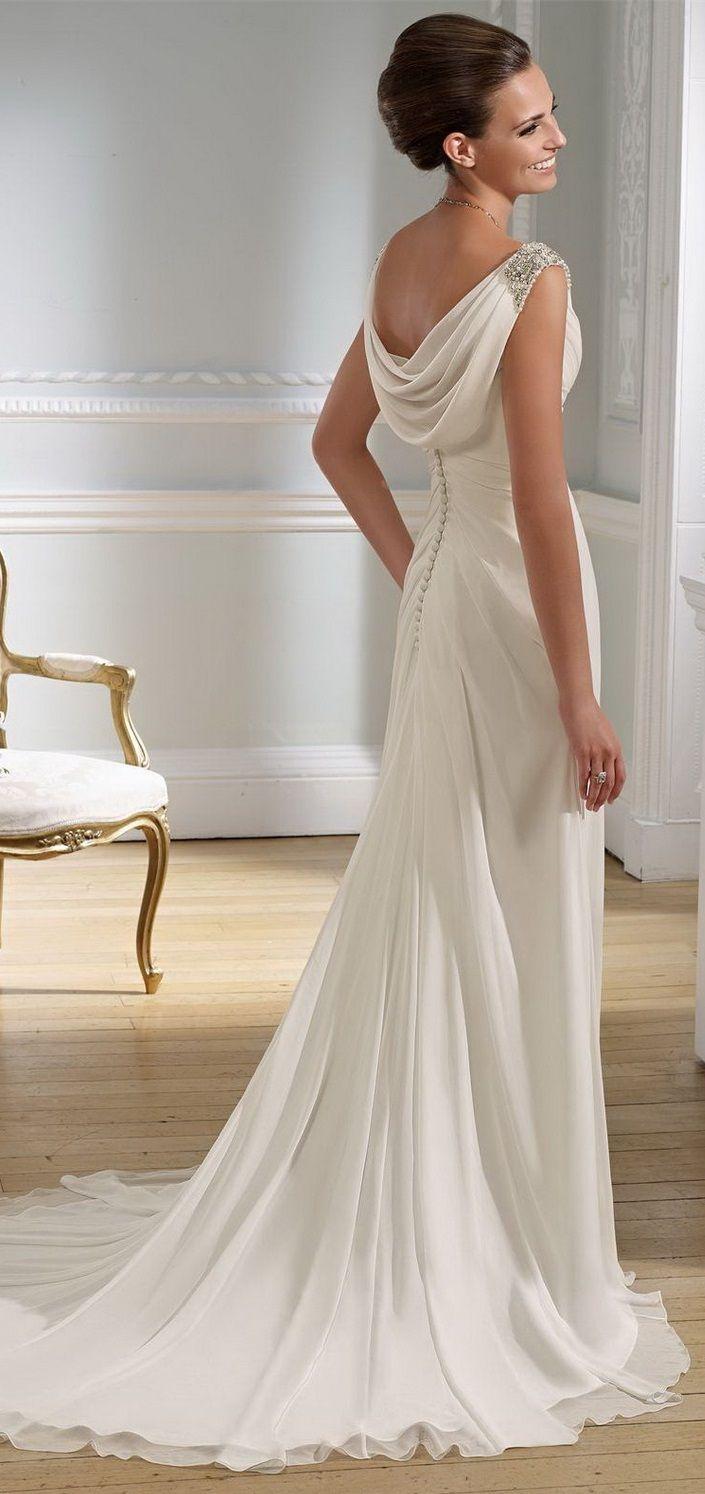 Goddess style wedding dress victoria jane wedding for Goddess style wedding dresses